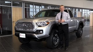 2016 Toyota Tacoma Review at Dealership near Eau Claire