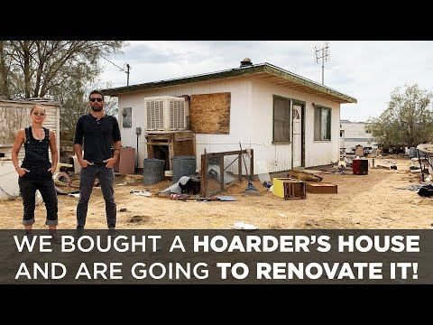 We bought a house from a HOARDER | Renovation Challenge