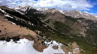 FPV Ridge Ride on Geneva Peak // TBS Tango 2 // DJI FPV System