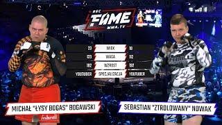 "FAME MMA 2: Michał ""Bogas"" Bogawski vs Sebastian ""Ztrolowany"" Nowak (Cała Walka)"