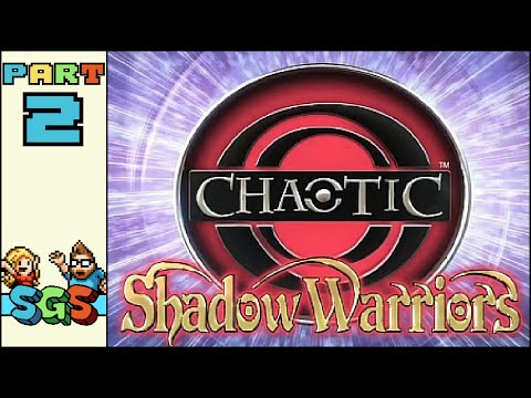 chaotic shadow warriors xbox 360 trailer