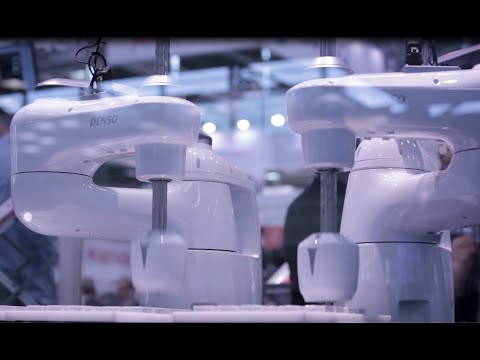DENSO Robotics presented - first time in Europe - its New HSR Robot Series, the Innovative COBOTTA for Human-Robot-Collaboration and Industry 4.0/IoT Applications.