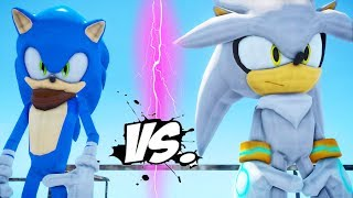 SONIC BOOM VS SILVER THE HEDGEHOG - EPIC BATTLE