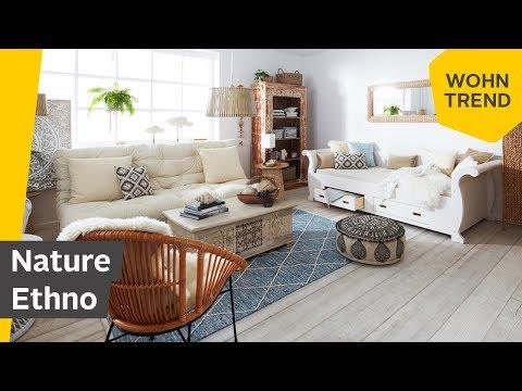Einrichten im Boho-Stil mit Ethno-Elementen: Der Wohntrend Nature Ethno   Roombeez – powered by OTTO