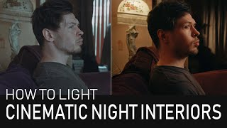 How To Light Cinematic Interior Shots – With 3 Lights