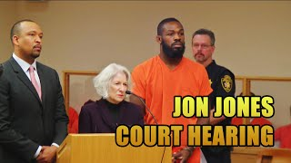 UFC Fighter Jon Jones Drag Racing Court Hearing [Full Length]