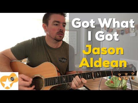 Got What I Got | Jason Aldean | Beginner Guitar Lesson