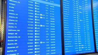 Airlines preemptively cancel flights to and from East Coast