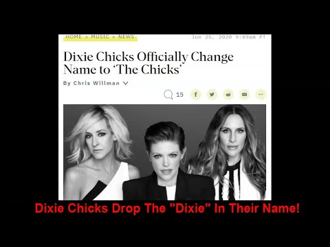 Dixie Chicks Drop The