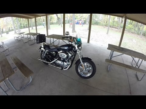 Sport Bike Rider Rides A Harley? 1200 Custom First Ride-Review