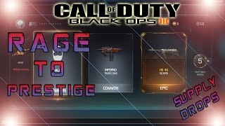 RAGE to Prestige  - Supply Drop Opening with weapon bribe! (PC/LIVE)