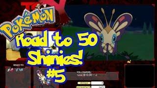 Beautifly  - (Pokémon) - Road to 50 Shinys   Shiny #5   BEAUTIFLY aka May Fever