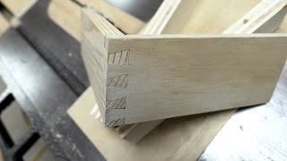 Dovetails On The Table Saw - Prototype Build