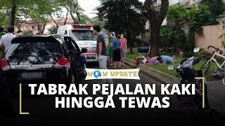 Tabrak Pejalan Kaki di Karawaci, Tersangka Sempat Memarahi Istri Korban hingga Menjambaknya