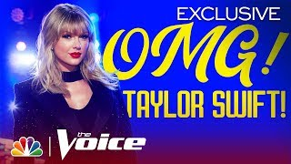 Mega Mentor Taylor Swift Shocks the Latest Knockout Pairs - Voice Knockouts 2019 (Digital Exclusive)
