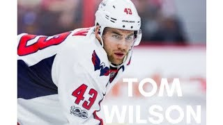 tom wilson being a metaphorical brick wall for 3 minutes straight