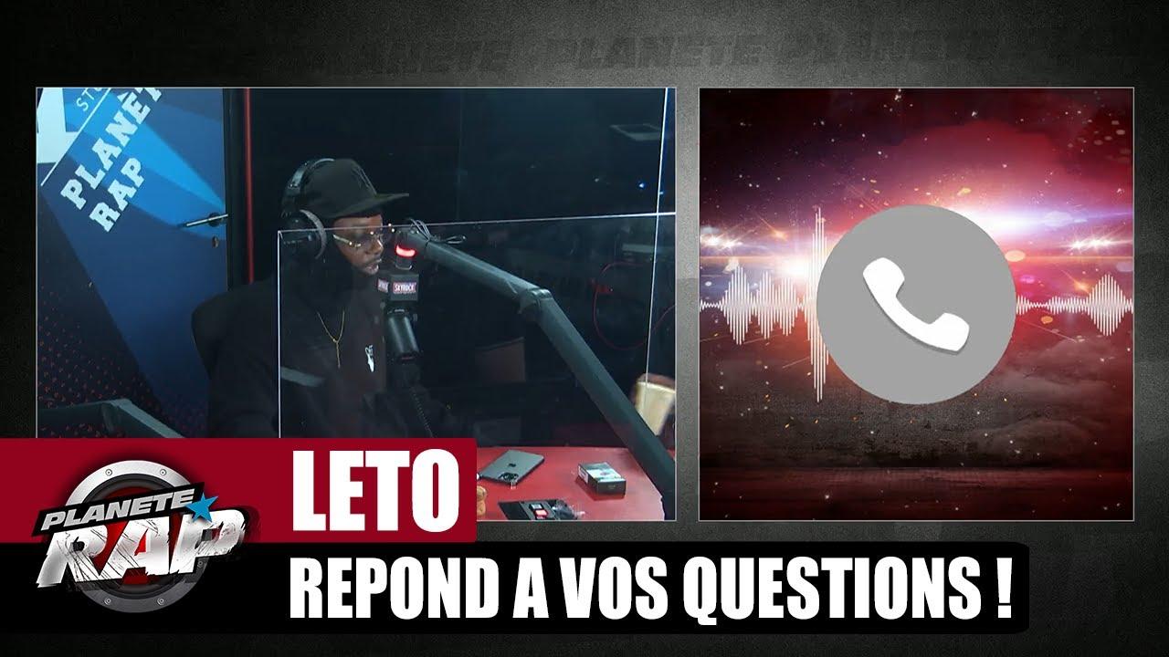 Un RETOUR de PSO THUG ? Leto répond à VOS questions ! #PlanèteRap