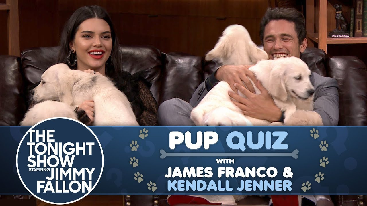 Pup Quiz with Kendall Jenner and James Franco thumbnail
