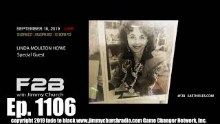 Ep. 1109 FADE To BLACK Jimmy Church W Linda Moulton Howe : The Face In Antarctica : LIVE