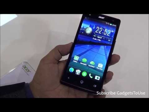 Acer Liquid E3 Hands on, Quick Review, Camera, Features and Overview HD at MWC 2014