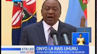 Rais Uhuru Kenyatta aahidi kuendelea kuunga mkono ugatuzi