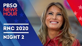 WATCH LIVE: 2020 Republican National Convention Night 2 | PBS NewsHour Coverage with Judy Woodruff