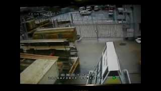 preview picture of video 'A windy morning at Chiltern Timber in Hemel Hempstead'