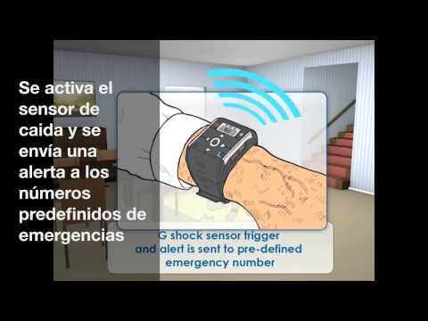 Reloj localizador GPS - para personas mayores, con demencia, alzheimer...