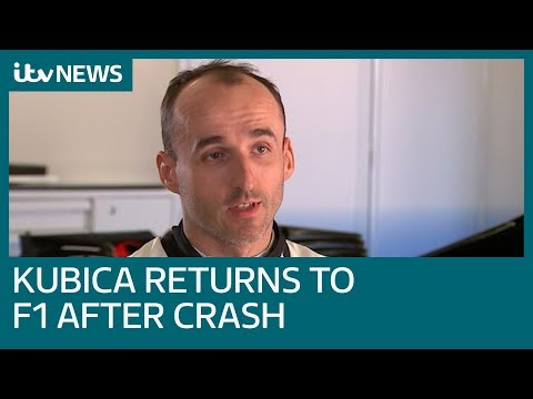 Image: WATCH: Kubica opens up on crash that nearly took his life