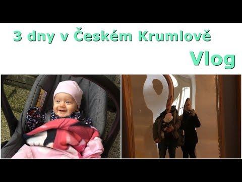 3 dny v Českém Krumlově | Vlog