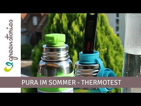 Pura Thermoflaschen Test | Getränke kühl halten
