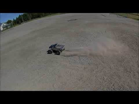 Vintage Nitro RC Converted to Brushless with Banggood RacerStar f540 Motor and ESC Combo