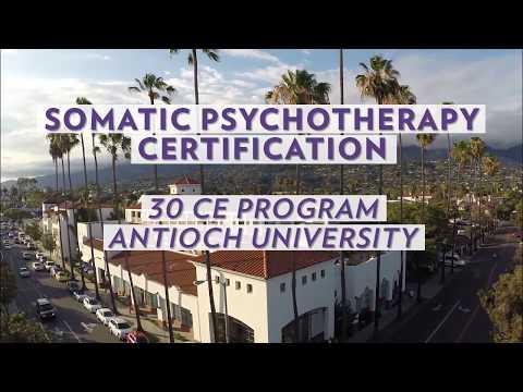 Somatic Psychotherapy Certification at Antioch University Santa ...