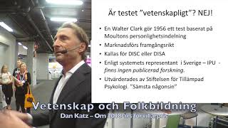 Dan Katz – VoF på Bokmässan 2019