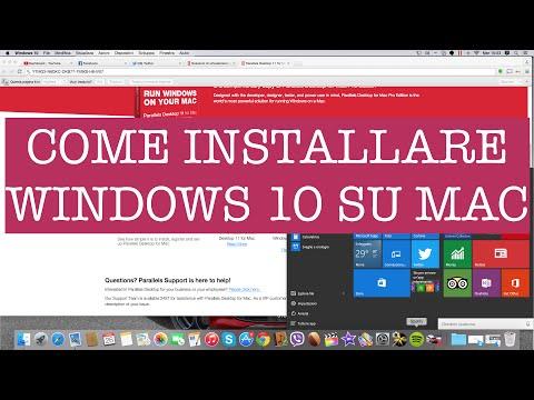 Come installare Windows 10 e Parallels 11 su Apple Mac