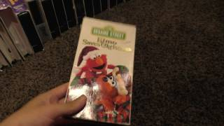 My sesame street VHS and DVD collection(10/28/2016)