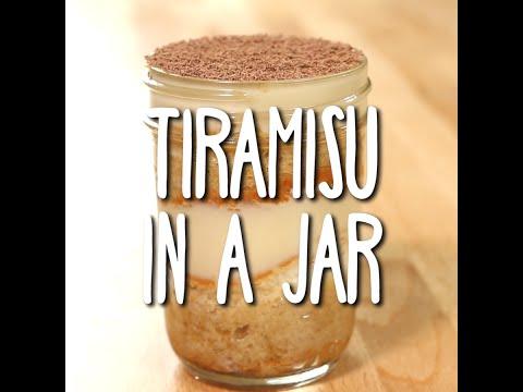 Video Tiramisu in a Jar
