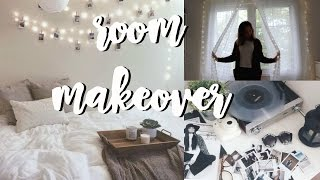 Room Makeover + How to Put up Fairy Lights |  Vanessa Tiiu
