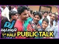 Duvvada Jagannadham Movie Review/Public Talk   Fans Reaction   First Half   Fans Response