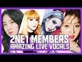 2NE1 39 s IMPRESSIVE VOCALS 투애니원