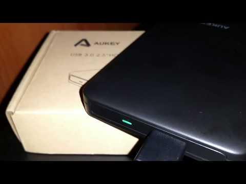 Case esterno AUKEY per Hard Disk 2.5