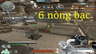 [ Bình Luận CF ] GatlingGun-Ultimate Silver - Tiền Zombie v4