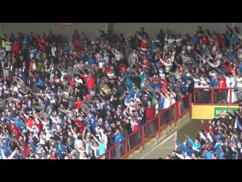 """""""Los Cruzados Ceatolei en el Estadio Cap , Talcahuano 15/09/2013"""" Barra: Los Cruzados • Club: Universidad Católica"""