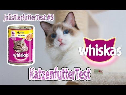 WHISKAS Katzenfutter im Test | Nassfutter für Katzen | Review | JulisTierfuttertest #5
