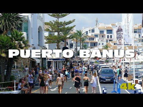 PUERTO BANUS - Marbella - Málaga España 4k