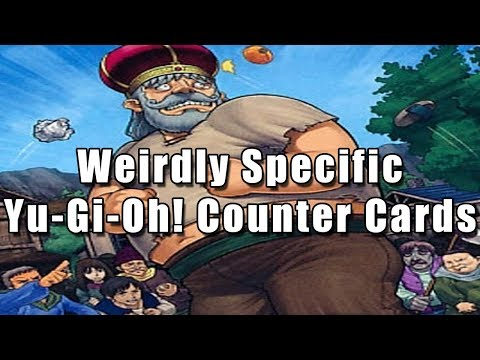 Weirdly Specific Yu-Gi-Oh! Counter Cards