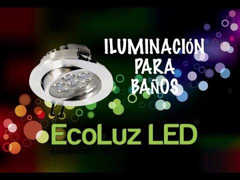 Iluminación Led para baños
