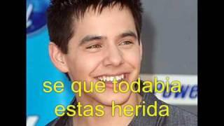 your eyes don t lie by david archuleta ( en español )