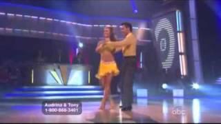 Audrina Patridge & Tony Dovolani Cha Cha
