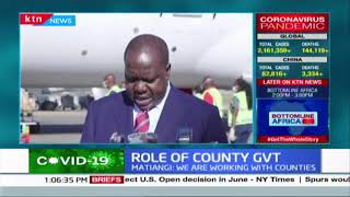 CSs Matiang\'i and Macharia expound more on government role and plans during COVID-19 pandemic